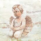 "The Littlest Angel ""With Sympathy"" ~ Greeting Card by Susan Werby"