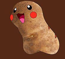 Potato Pikachu by Lfcjdp