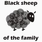 Black sheep of the family by Kurt  Tutschek
