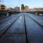 Vancouver - Granville Island Pier by RobertCharles