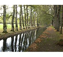 Autumn Reflection Photographic Print