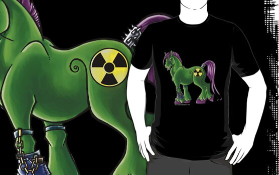 Radioactive Pony by cybercat