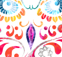 COLORFUL CANDY OWL Sticker