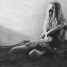 Anticipation (in pencil) by Chelsea Kerwath