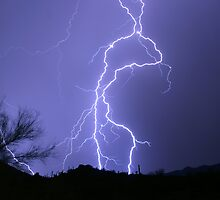 Desert Lightning by Daniel J. McCauley IV
