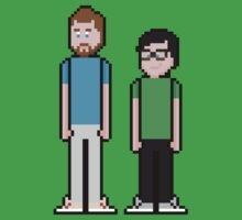 8Bit Rhett and Link by The World Of Pootermobile