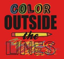 Color Outside The Lines Kids Clothes