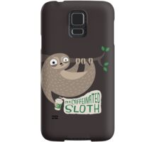 Caffeinated Sloth Samsung Galaxy Case/Skin