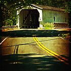The Green Sergeants Covered Bridge by Debra Fedchin