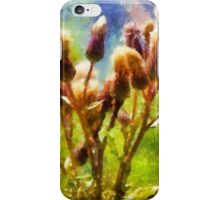 Bunch of flowers under a shining sun iPhone Case/Skin