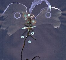 0007 - Brush and Ink - Kite by wetdryvac