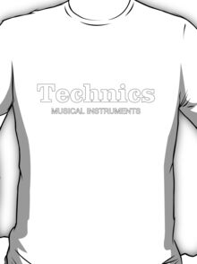 Technics Musical Instruments T-Shirt