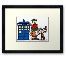 Raggedy-man Christmas! Framed Print