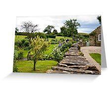 A Country Garden Greeting Card