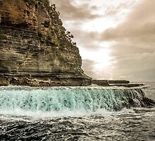 Water Veil Tasmania by Russell Charters