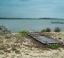 Manning Point Broken Jetty 01 by kevin chippindall