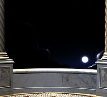 View on a moon from a balcony 3 by AnnArtshock
