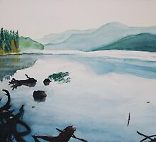 Oakridge Reservoir #2 by Dawna Morton