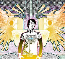 Self Portrait: Music Machine by GuitarAtomik