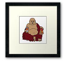 Fat Buddah Framed Print