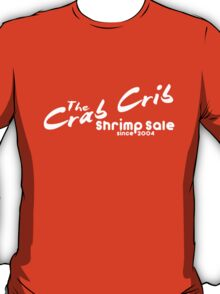 Shrimp Sale at the Crab Crib T-Shirt
