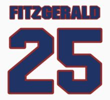 National football player Mike Fitzgerald jersey 25 by imsport