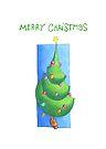 Christmas Tree White by Mariana Musa