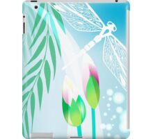 Lotus and Dragonfly iPad Case/Skin