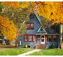 A home in the country Photographic Print