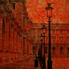 Painting the Louvre by Michele Roohani