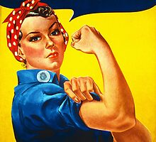 Rosie the Riveter - Recruitment  Poster by BritishYank