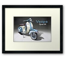 Vespa Sprint 150 Framed Print