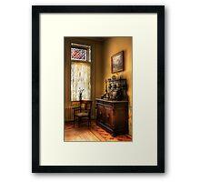 The corner in Grandma's Kitchen Framed Print