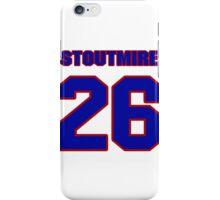 National football player Omar Stoutmire jersey 26 iPhone Case/Skin