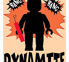 Dynamite Minifigure by ChilleeW