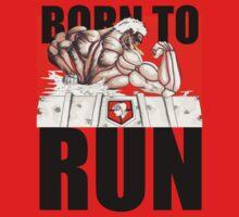 The Armored Titan - Born To Run Kids Clothes