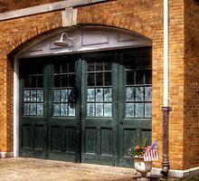 The Garage Door by Mike  Savad