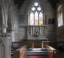 Altar , St John the Baptist, Colerne by Photography  by Mathilde