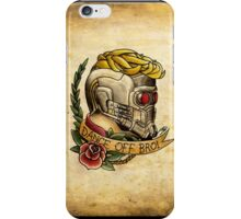 Star Lord Tattoo Parlor iPhone Case/Skin