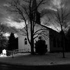 Church at Leverett, MA by Doug Linder