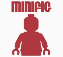 Retro Large Red Minifig by Customize My Minifig