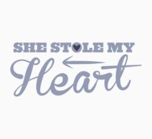 She stole my HEART with arrow left by jazzydevil
