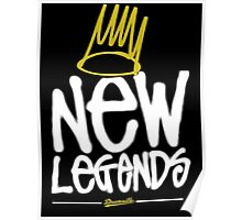 Dreamville - New Legends (White Font) Poster