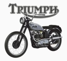 Triumph TR5 Trophy 1949 (The Fonz) by Tony  Newland