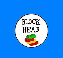 BLOCK HEAD by ChilleeW