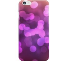 Abstract pink view background iPhone Case/Skin