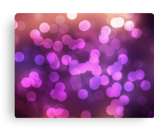 Abstract pink view background Canvas Print