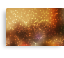 Stars abstract background Canvas Print