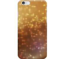 Stars abstract background iPhone Case/Skin