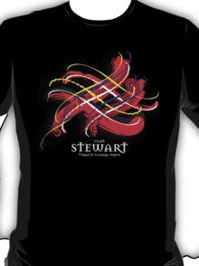 Stewart Tartan Twist T-Shirt